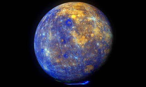 NASA image of Mercury