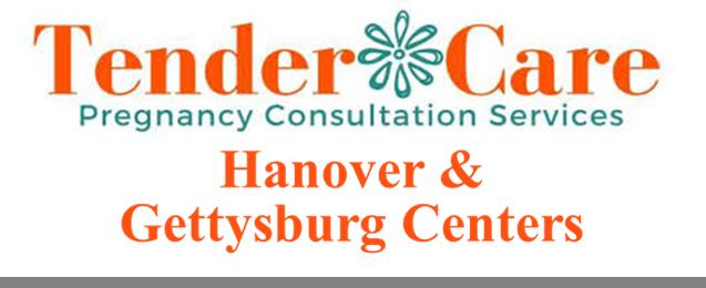 Tender Care Pregnancy help Hanover Gettysburg PA