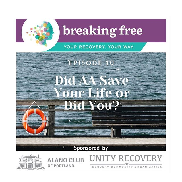 """New episode dropped (link in bio ☝️☝️): Did AA Save Your Life or Did You?  Show notes: In this episode, Liv and Tiffany explore the role of AA in their lives and whether they believe it saved them. So often we hear people say the phrase """"AA saved my life,"""" or """"if it wasn't for AA I wouldn't be alive."""" Liv has spent a long time dissecting this statement. She's even written about it (link here). It is her belief that to be empowered and autonomous in her recovery, she would have to be the one to save her life — AA gave her the tools and framework to do that initial work, but only she could do that. Simply attending AA didn't save her. AA was a touchstone for her: it was a place to land and to find sober community, and a framework to look into her substance use disorder. It then became an invitation to look deeper, and that work took Liv outside of AA.  For Liv, the challenge we encounter when we praise a fellowship and program for saving our lives is that we create an unhealthy dependence upon it. And ultimately, we can end up believing that our recovery is incumbent upon continued attendance at meetings, involvement in fellowship, and continued step work. That hasn't been the case for Liv or Tiffany.  Tiffany believes that initially AA did save her life — she didn't believe that she was capable of doing so herself. She also didn't realize the scope of her substance use disorder. Later it became more of a habit to make the statement that AA saved her life, although she's not sure what would've happened had she not gone to her first meeting. She now believes that the choices she makes on a daily basis lead her to where she is today.  Listen via link in bio ☝️☝️& tell@is your thoughts!"""