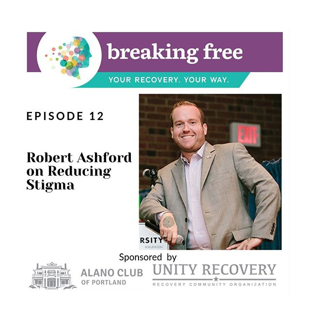 New episode live! An interview with Robert Ashford on reducing stigma. @rdashford @unityrco Link in bio 👆👆
