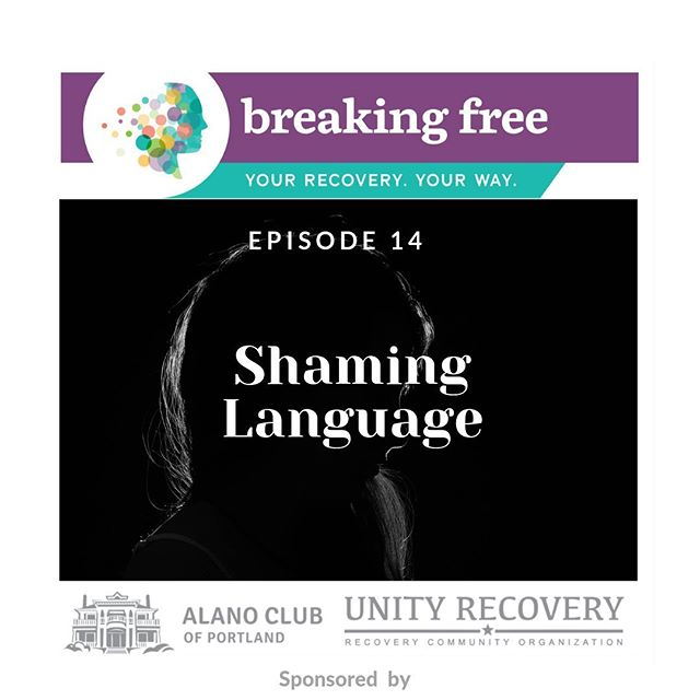 """New episode live!!! Shaming language. Listen. Subscribe. Help support us! Link in bio 👆👆show notes: New episode live!! How many times have we heard the phrases: """"dry drunk,"""" """"recovery lite,"""" """"sober but not in recovery,"""" """"chronic relapser,"""" they can't get out of their own way."""" Then there are all the pejorative terms like, """"Junkie,"""" """"Addict,"""" and """"Alcoholic."""" And unhelpful slogans: """"Take the cotton wool out of your ears and put it in your mouth,"""" and """"Our secrets keep us sick"""" How many of these terms do we use every day?  In this episode Liv and Tiffany explore how shaming this language is and how it can potentially impact people in recovery and those seeking it. We encourage everyone to think about the language they use and how they are contributing to stigma both directly and indirectly."""