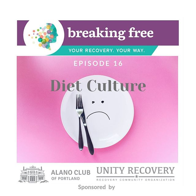 New episode on the podcast!! We're talking about diet culture. Listen via link in bio. 👆👆