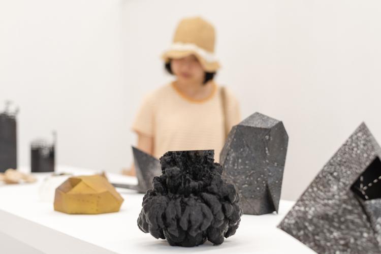 Rosie Gunzburg (RMIT Honours 2018), Stitch series, 2018 RMIT University Graduation Exhibition installation view, 2018 dimensions variable Photo: Keelan O'Hehir