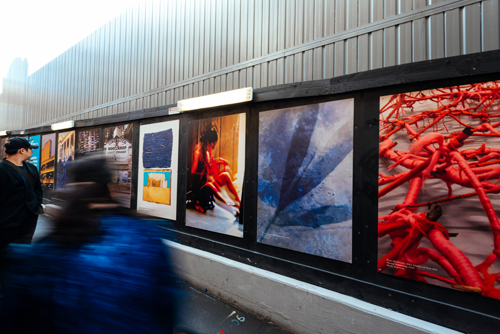 Metro Rail Hoardings - RMIT University Open Day 2019