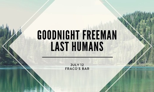 This Friday we're playing at Fraco's Bar in Littleton! (Used to be the Toad Tavern) $7 pre-sale $10 at the door. DM if interested about pre-sale tickets! . . . . . . . . #denvermusic #denver #littleton #colorado #coloradomusic #denvermusicscene #lasthumans #localmusic #fracosbar