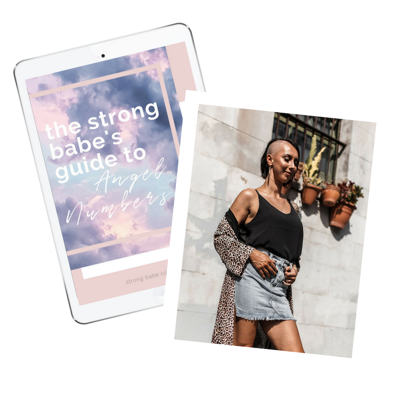 FREE GUIDE TO ANGEL NUMBERS - Seeing 11:11 or triple numbers everywhere? It's not a coincidence babe, it's the Universe giving you a message. Find out exactly what it's trying to tell you with your own Angel Numbers Guide.