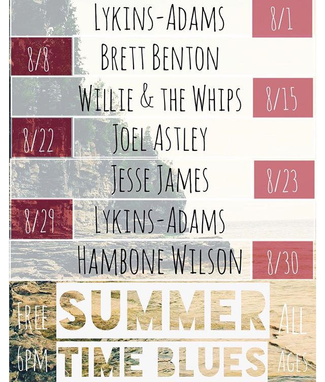 The month of August is gonna be a blast! Here's a little preview of what's to come. Summer Time Blues? No worry we've got you covered with some amazing blues artist from all over Washington. . . . . #blues #summertime #selfservetapwall #skagitvalley #skagitartmusic #sedrowoolley #woolleymarket #cedarstage #alittlebitofeverything