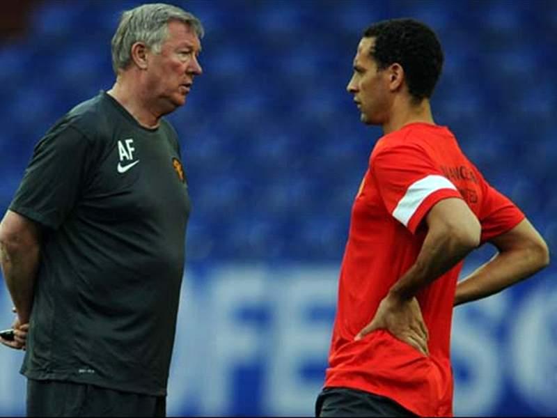 Kevin george, Manchester United rio Ferdinand sir Alex ferguson.jpg