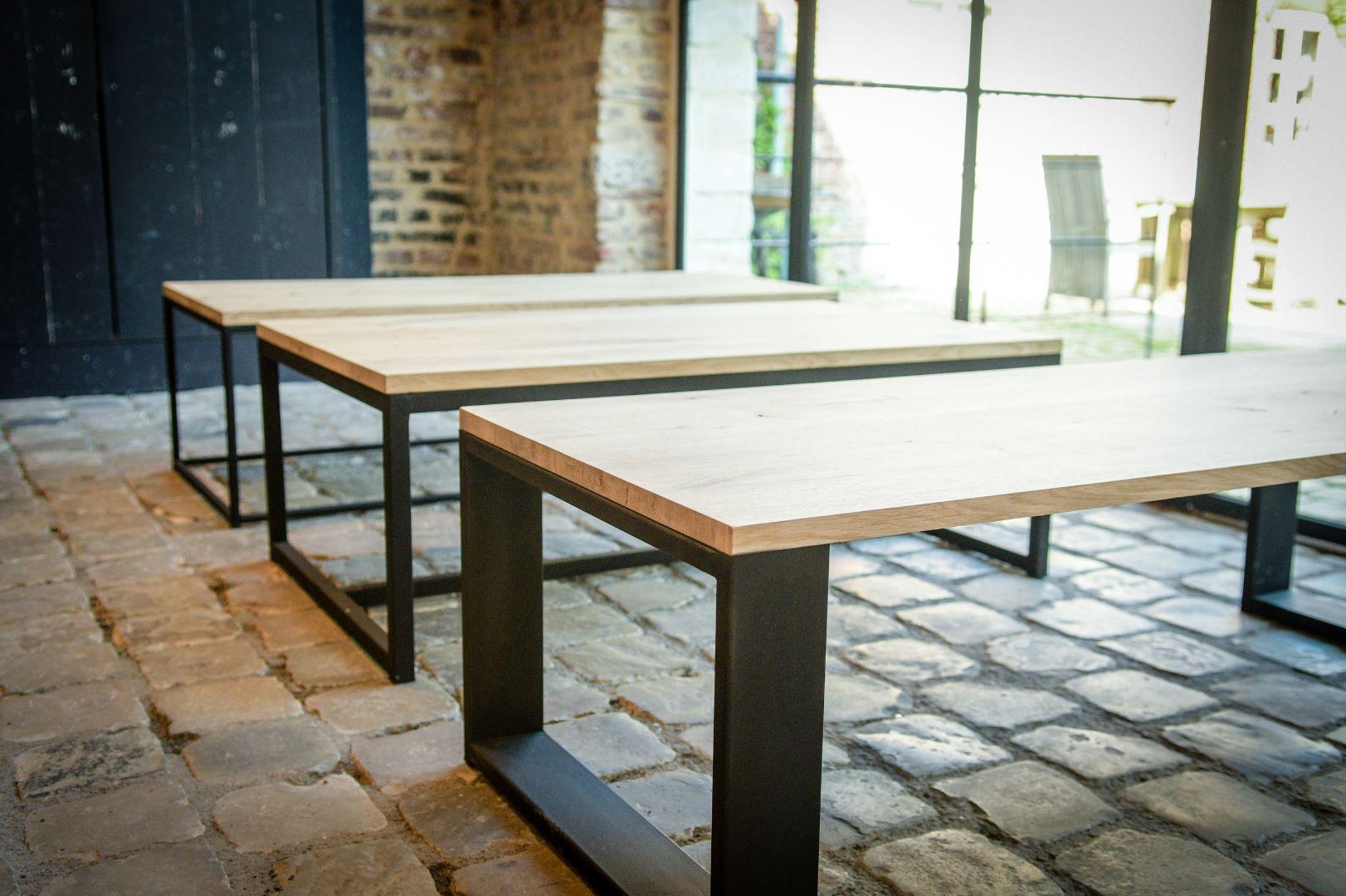 Mogelijke onderstellen voor zowel tafels als salontafels