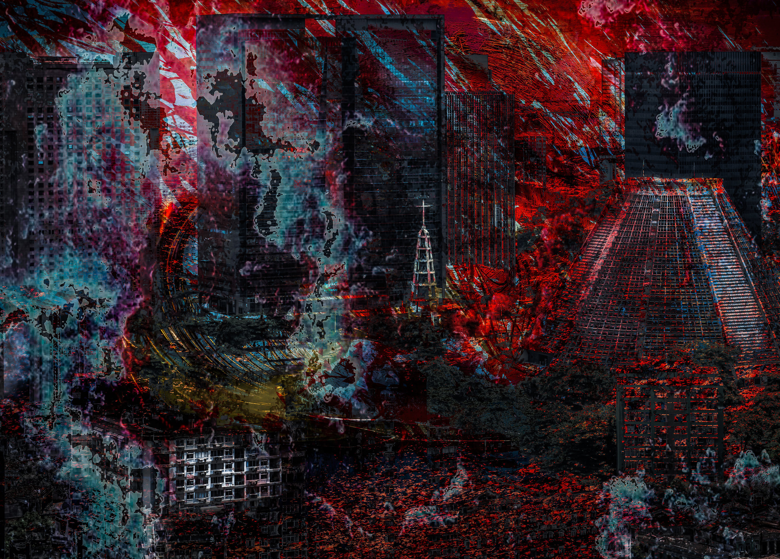 Moment of reflexion, 120 x 80cm, edition: 1/5
