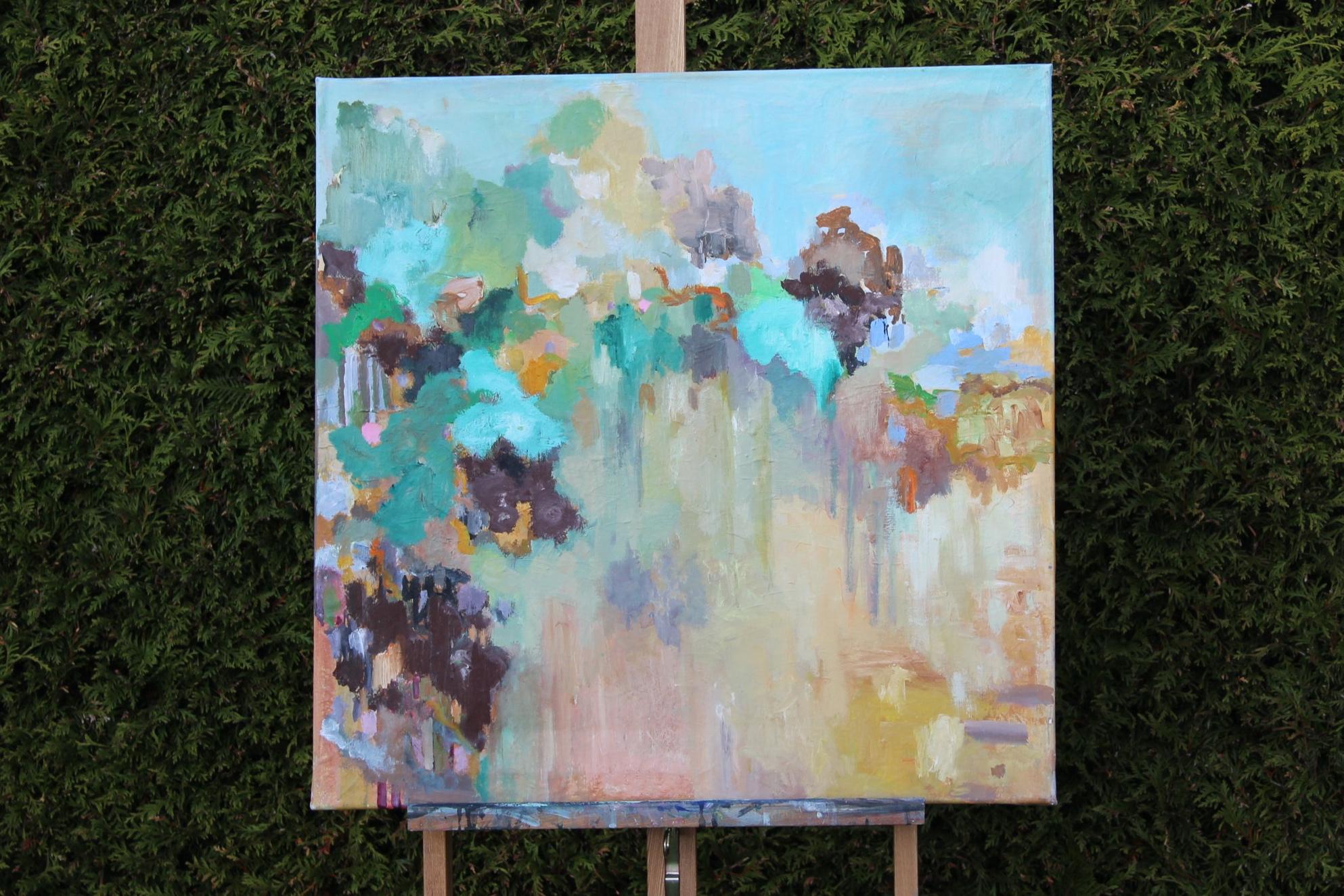 Dunes 71 x 71 x 2 cm oils and acrylics on canvas