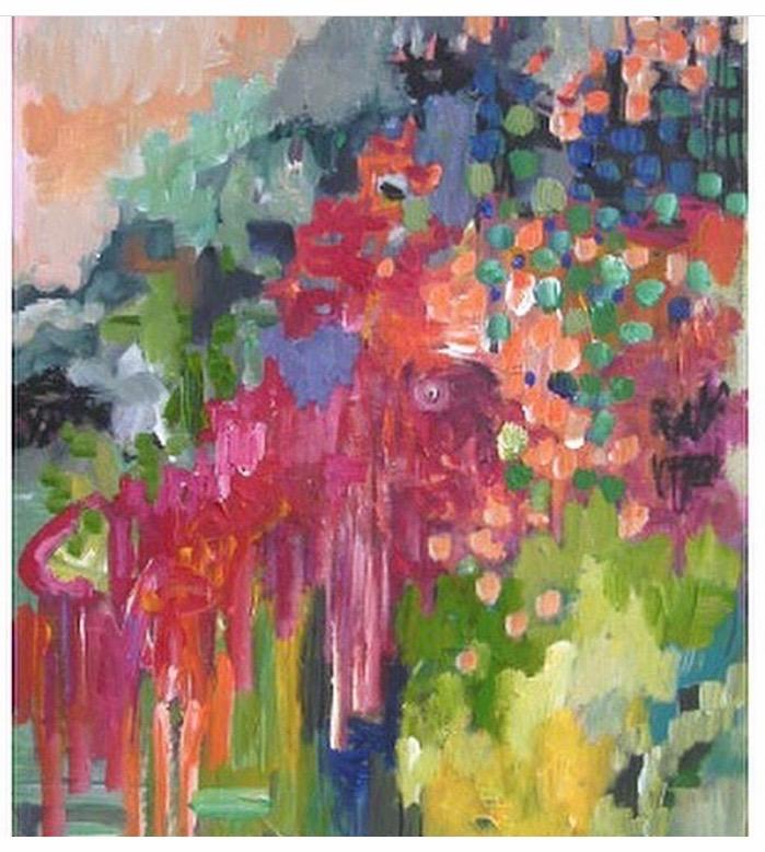 Summer I 40 x 50 x 2 cm acrylics on canvas
