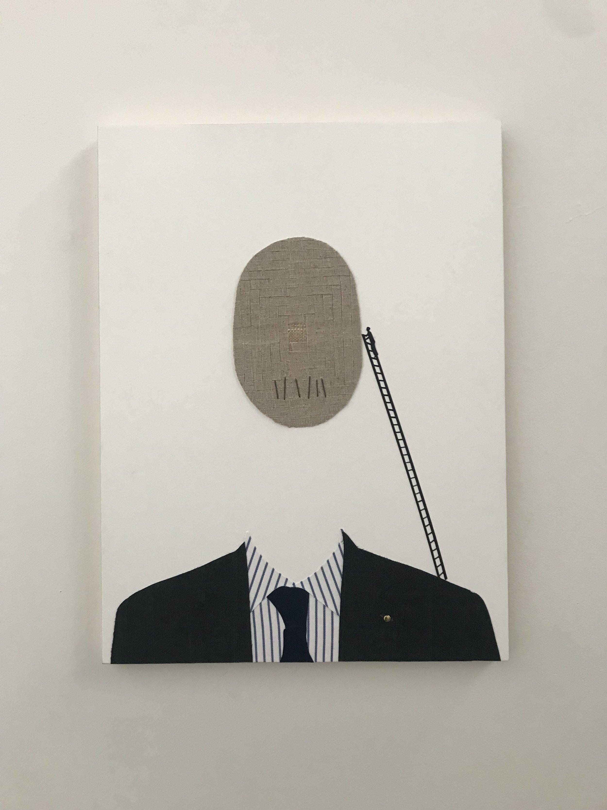 Member artwork 'The Endless Climb', Nicole Bilinski, 2019 for group exhibition 'Beg. Borrow. Steal.'