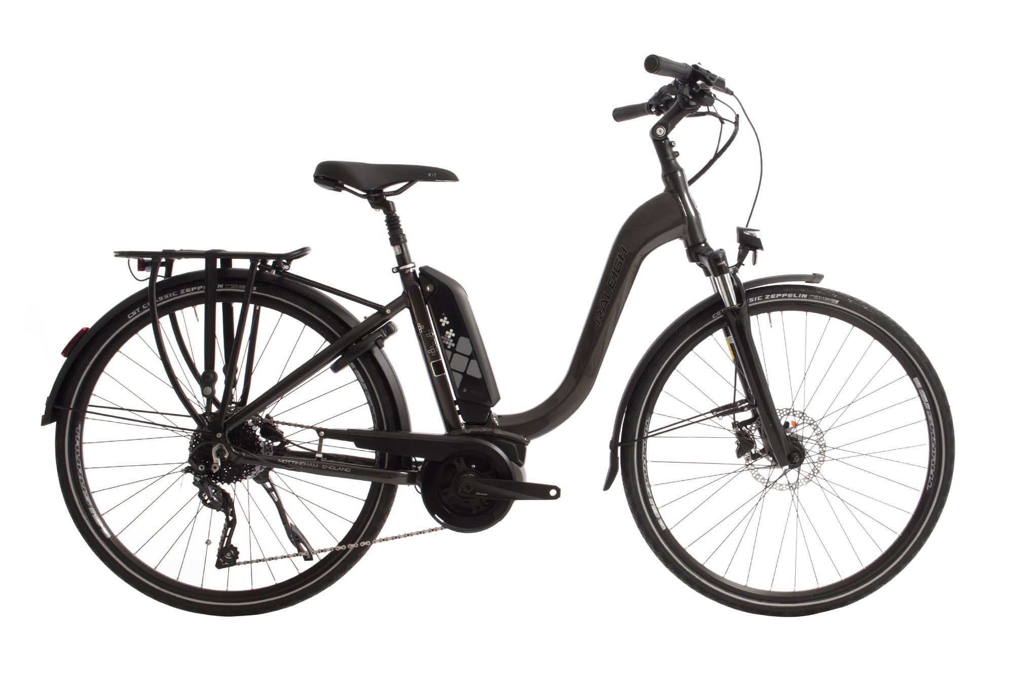 Raleigh - E-bikes starting from £1,100, and in various styles and colours. If you are considering an E-bike and haven't tried one yet, give us a call and book in for a test ride and discover how amazing E-bikes are. Raleigh use only the best components, and with electric systems from the likes of Bosch they offer great value for money.