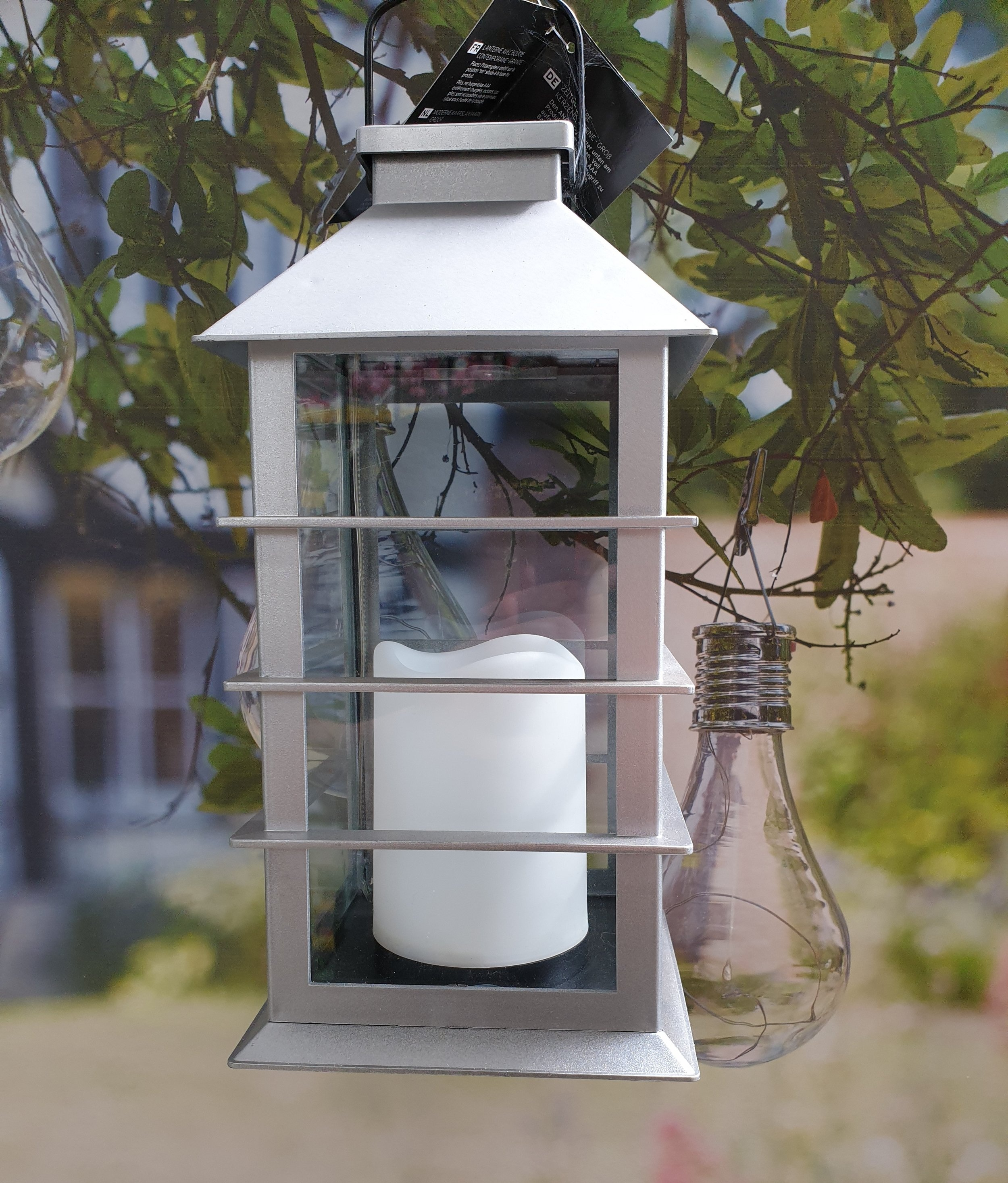 Hanging and Standing Lights. - We have a range of decorative lights in the form of hanging bulbs, lanterns and bugs, as imaged. We also have a range of light strings including bulbs and led strings.