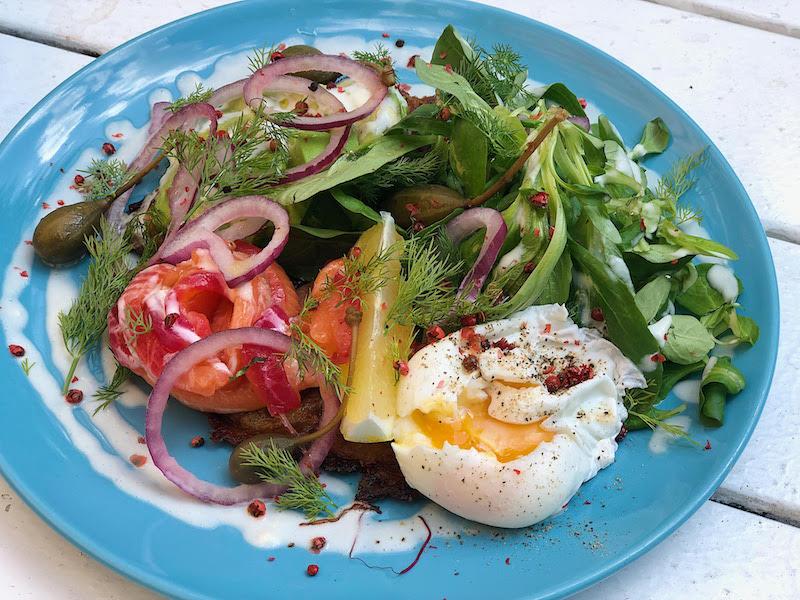 Allan's Breakfast Club | ABC Cured Salmon on Potato Waffle | TookTook