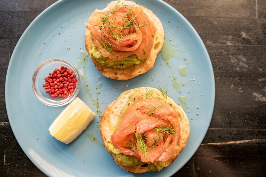 Allan's Breakfast Club | Home Cured Salmon Bagel | TookTook
