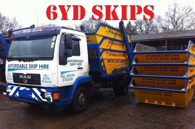 How many skips do you need? - If you're going through a large construction project or you have a lot of waste to dispose of, call Affordable Skip Hire Bristol Ltd. We can provide you with more than one skip to help speed the process up for you.