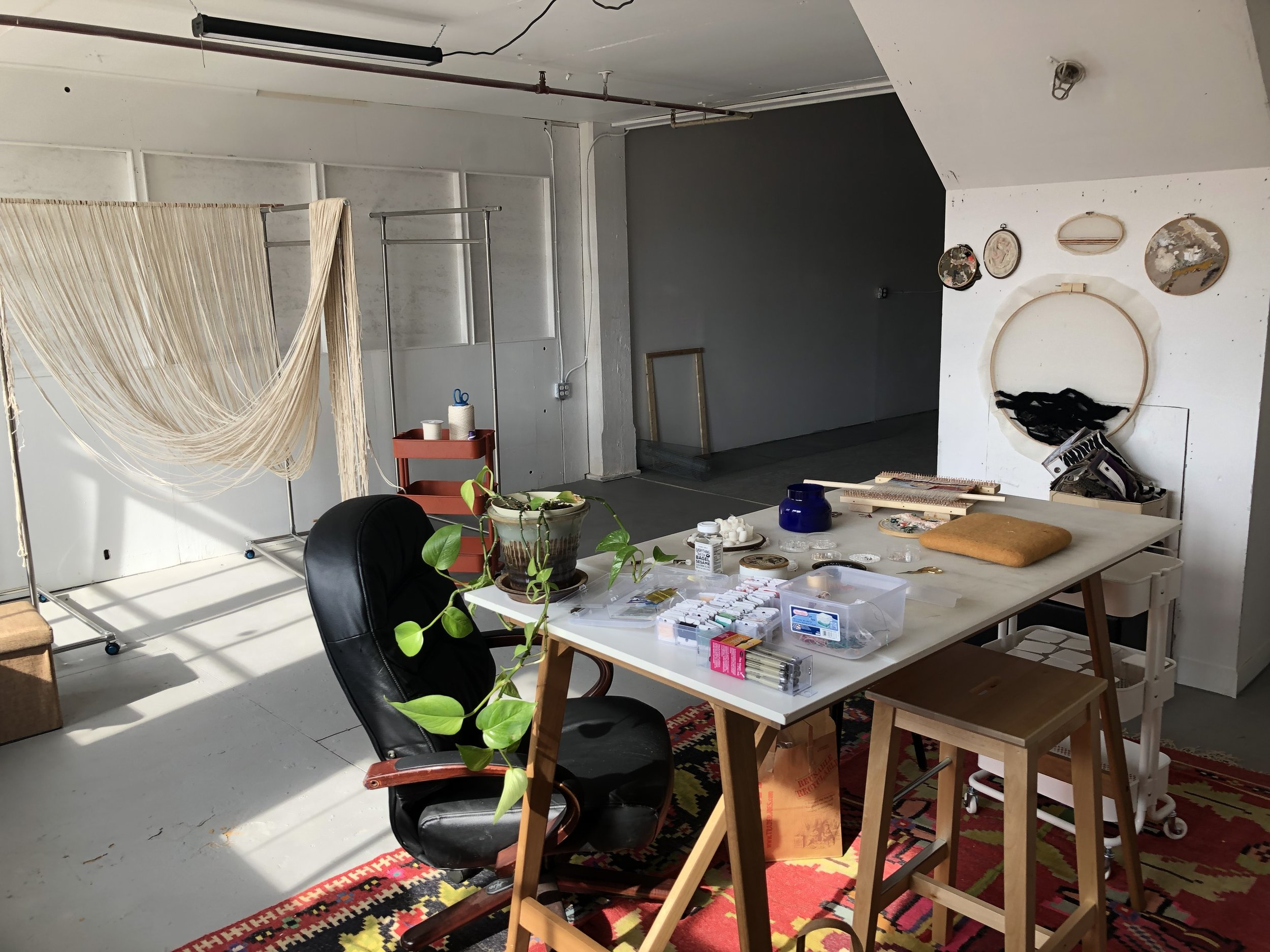 Donations - The project space is self-funded by me, Carrie Chema, to encourage and support art initiatives in whatever small way that I can. While it is free to use the space, donations of any size are greatly appreciated and go directly towards the studio operations.