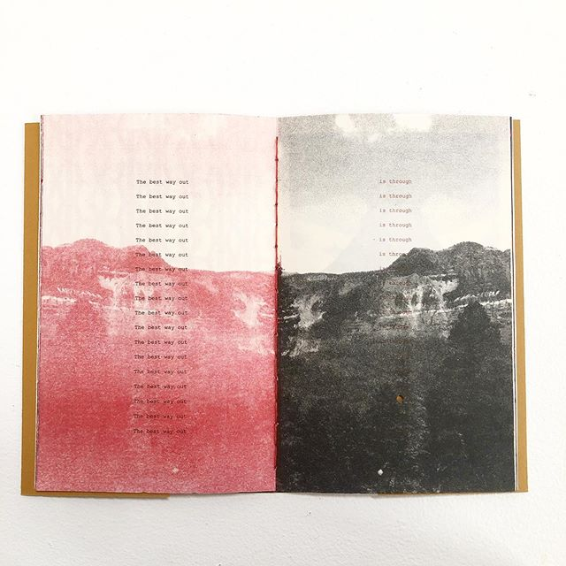 Sipapu, an artist book by @aggietoppins is on view in the group exhibition, O, until Sunday alongside work from 20 artists from around the world.  Closing reception this Sunday from 3-6! If you can't make it, DM me for a private showing. #frontstreetstudios #portmanteauprojects #bookarts #bookart #aggietoppins
