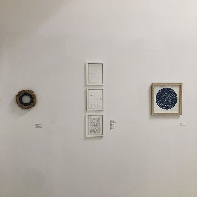 """""""O""""pen until 6 for the closing of this inaugural exhibition! Thank you to all the wonderful artists and everyone who has come out over the past month. It's been wonderful!"""