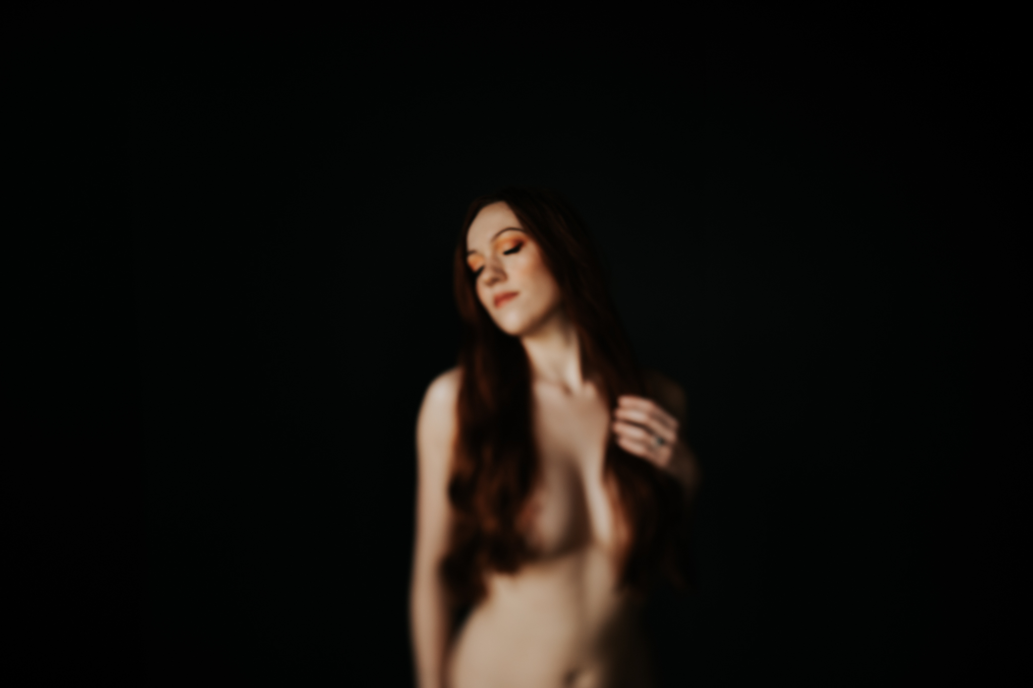 Houston Boudoir Photographer-The Negative Space-Moody Boudoir Session- Houston Wedding Photographer -Kristen Giles Photography-16.jpg