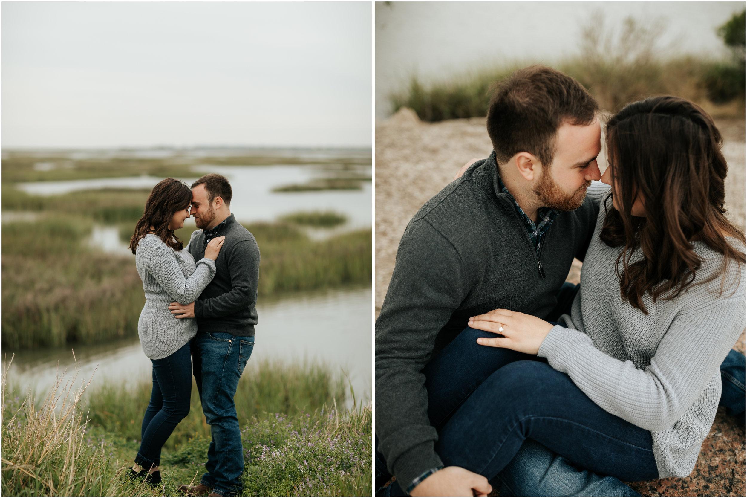 Leah Nicole Photography - Houston Wedding Photographer-Glassel Art School Engagement Session- Houston Wedding Photographer - Galveston Engagement 1.jpg