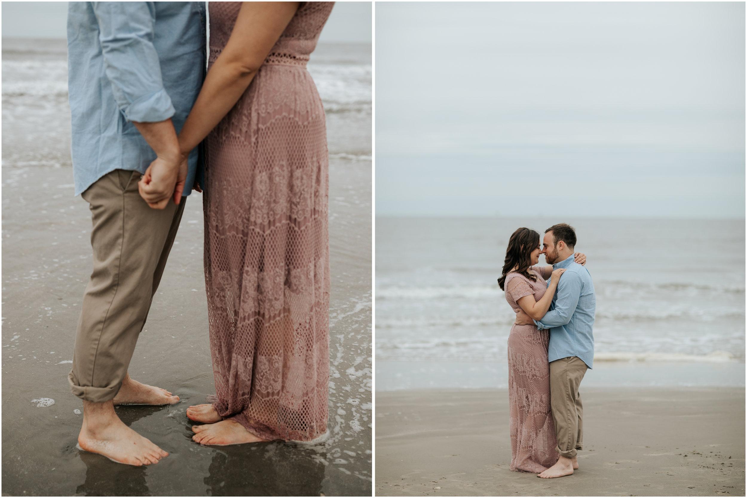 Leah Nicole Photography - Houston Wedding Photographer-Glassel Art School Engagement Session- Houston Wedding Photographer - Galveston Engagement 3.jpg