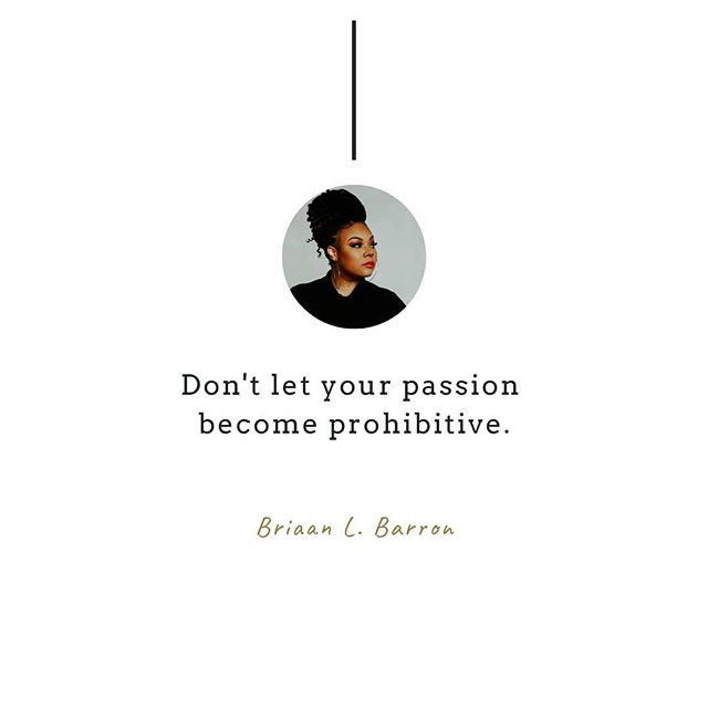 Passion is not a business model. Passion *does* serve a very valuable purpose. It can be fuel, it can inform your mission and story, it can influence your company culture, and it can inspire your target audience. But passion is not a trustworthy decision-making device. I've seen a lot of entrepreneurs get attached to aspects of their business that are not working. Keeping it 💯, If you're stubborn about making necessary changes for sentimental reasons, you seriously have to consider whether entrepreneurship is a fit for you. ⠀ •⠀ As a business owner, you have a responsibility to prioritize effectiveness over emotions. If a machine is failing to function or produce, it's likely that something within the machine is broken. You have to find what is broken and fix it or overhaul the machine entirely, otherwise it's rendered useless. You wouldn't let a non-functional machine continue to occupy space and suck up valuable resources.  If you have a business that is not producing your desired results, you need to be willing to reverse engineer it and fix the problem. Don't let your passion become prohibitive. ⠀ •⠀ •⠀ •⠀ #Bri #BriaanBarron #ByBri #BrandingByBri #Brand #Branding #BrandStrategist #BrandDesign #BlkCreatives #BlackOwned #WomanOwned #GirlBoss #Marketing #SmallBusiness #Design #GraphicDesign #Inspiration #Motivation #BusinessCoach #Startup #Founders #Entrepreneur #PersonalBranding #Bizfluencer #CauseMarketing #DiversityAndInclusion⠀