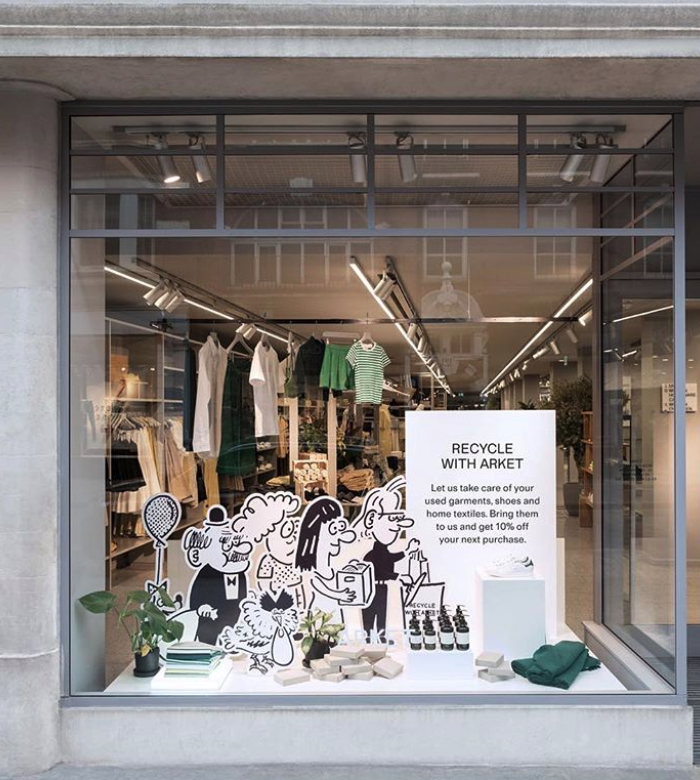 You Can Now Recycle Clothing at Arket - Arket joins sister brands H&M, & Other Stories, and Monki in used clothing recycling program