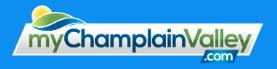 my champlain valley logo