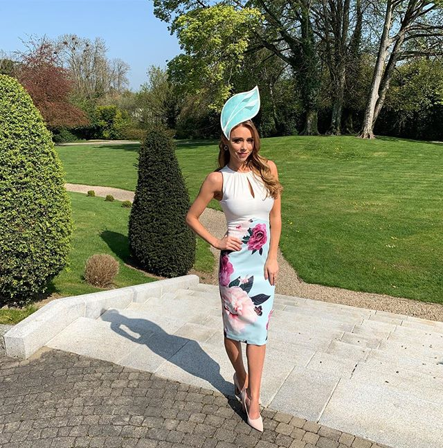 What a beautiful day! So excited to see all the style on the ladies today at @fairyhouseracecourse @dunboynecastle #ladiesday styled by @mreointhomas hair @ceiralambert Make up @mrsmakeup_ie