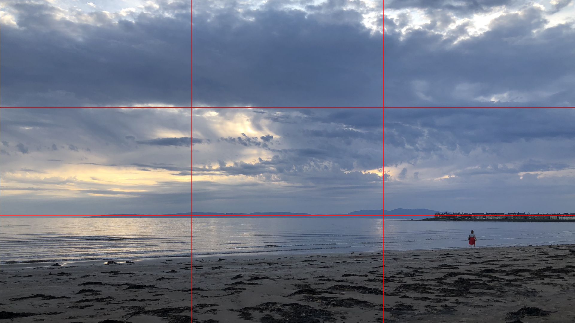 An example of good use of the 'rule of thirds'