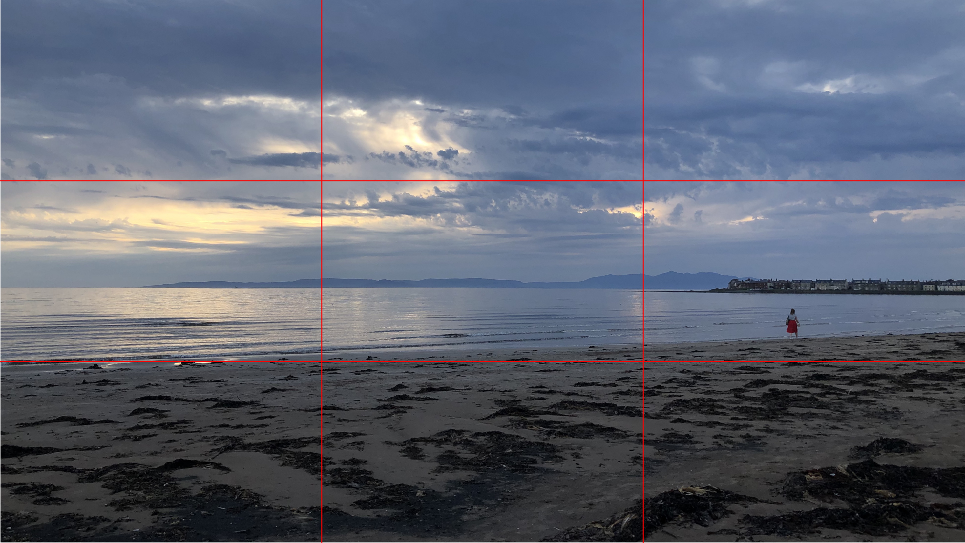 An example of poor use of the rule of thirds