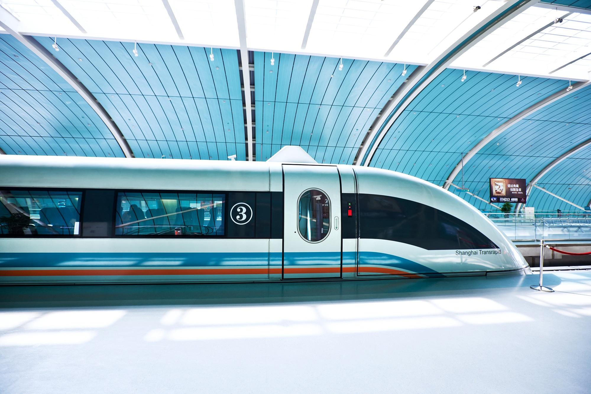 Superconducting Maglev Train, Shanghai