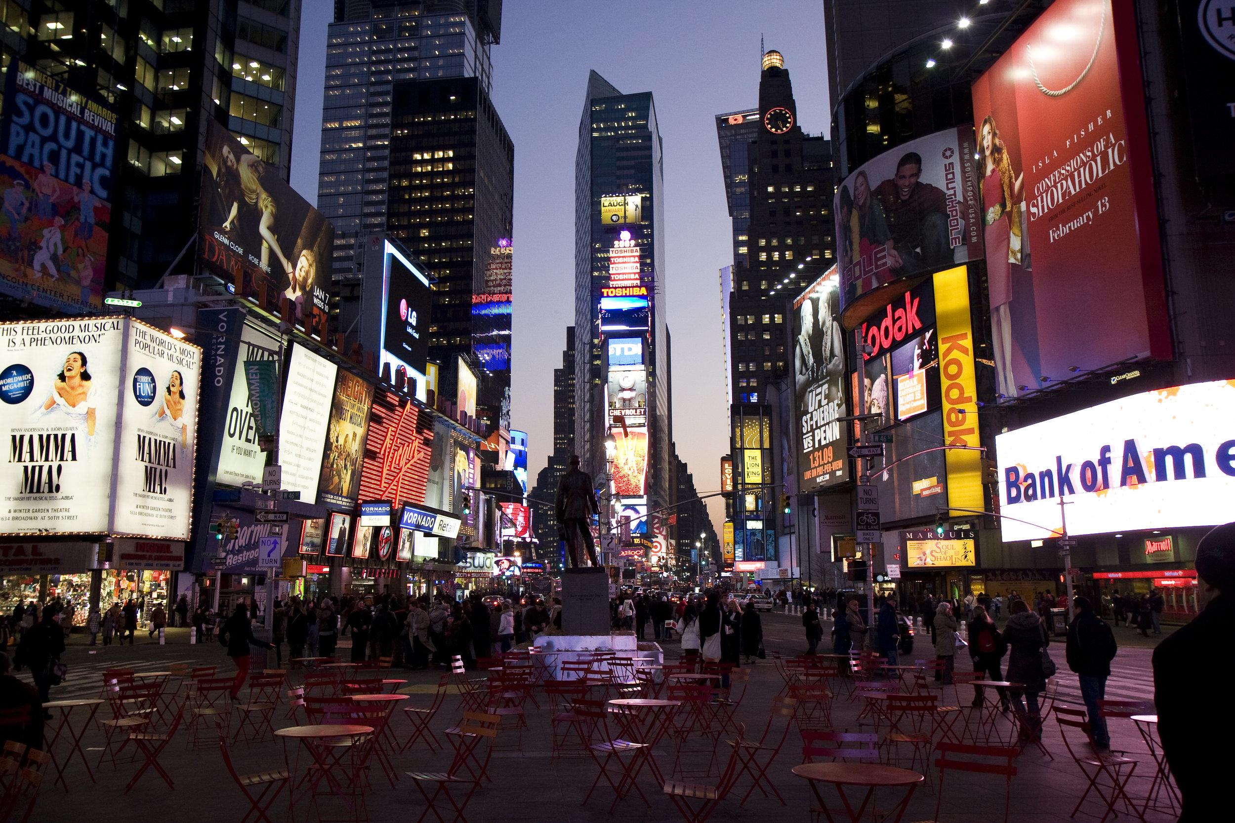 Journey to New York City