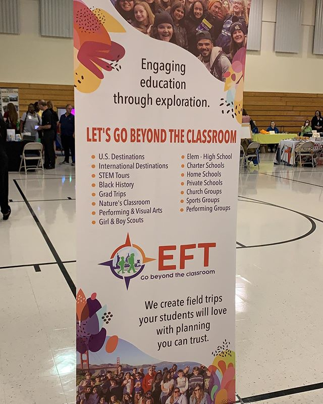 Educational Field Trips meeting lots of amazing people from the Broward County Schools business center #eft #studenttravel