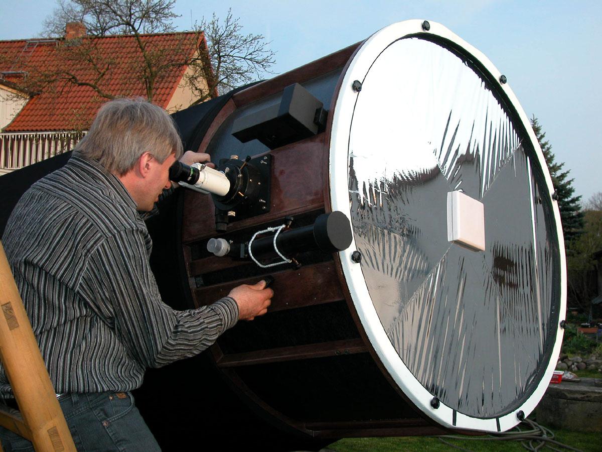 And I do mean  any  backyard telescope