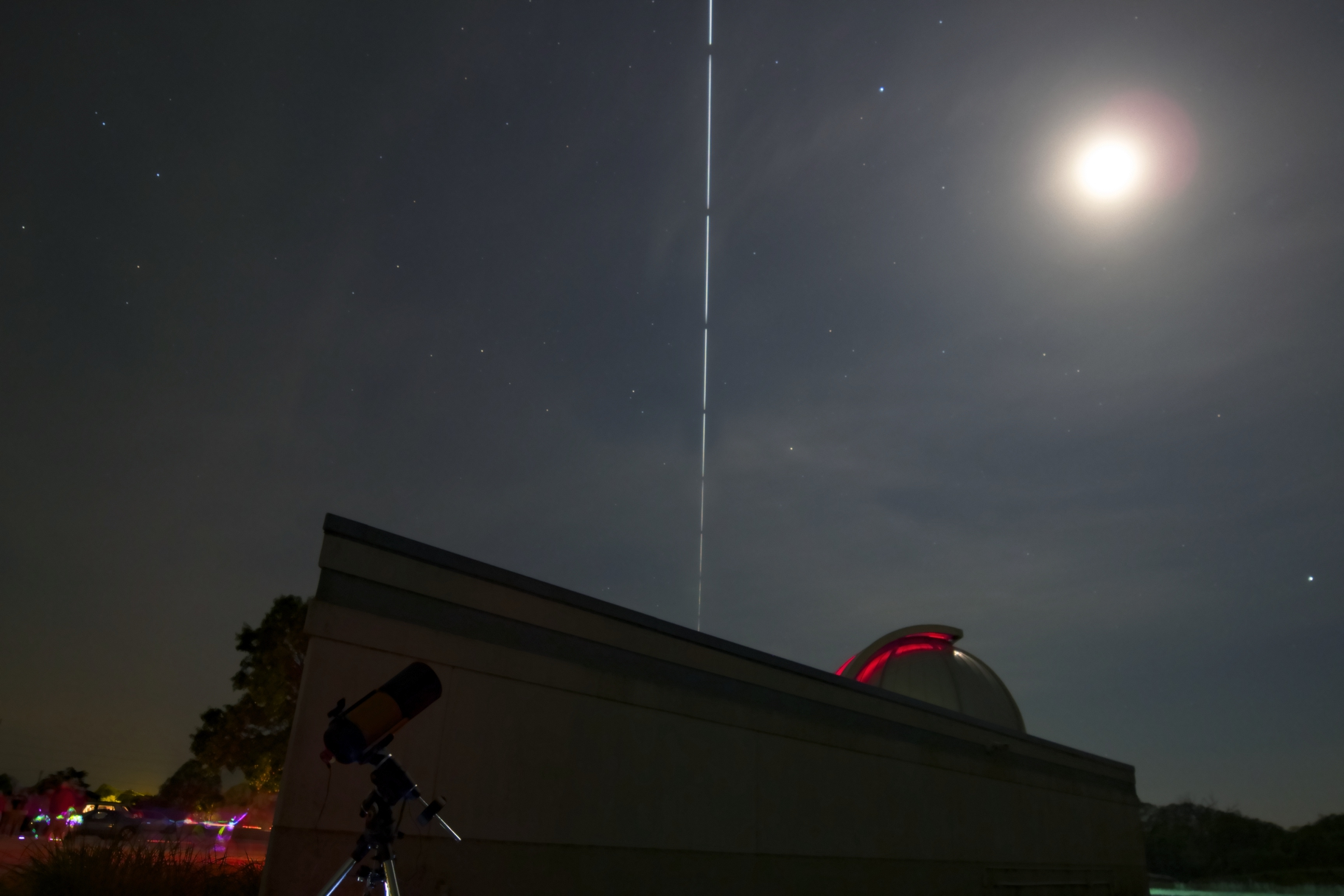 ISS transit captured in 14mm from the Lake Afton Observatory in April 2018