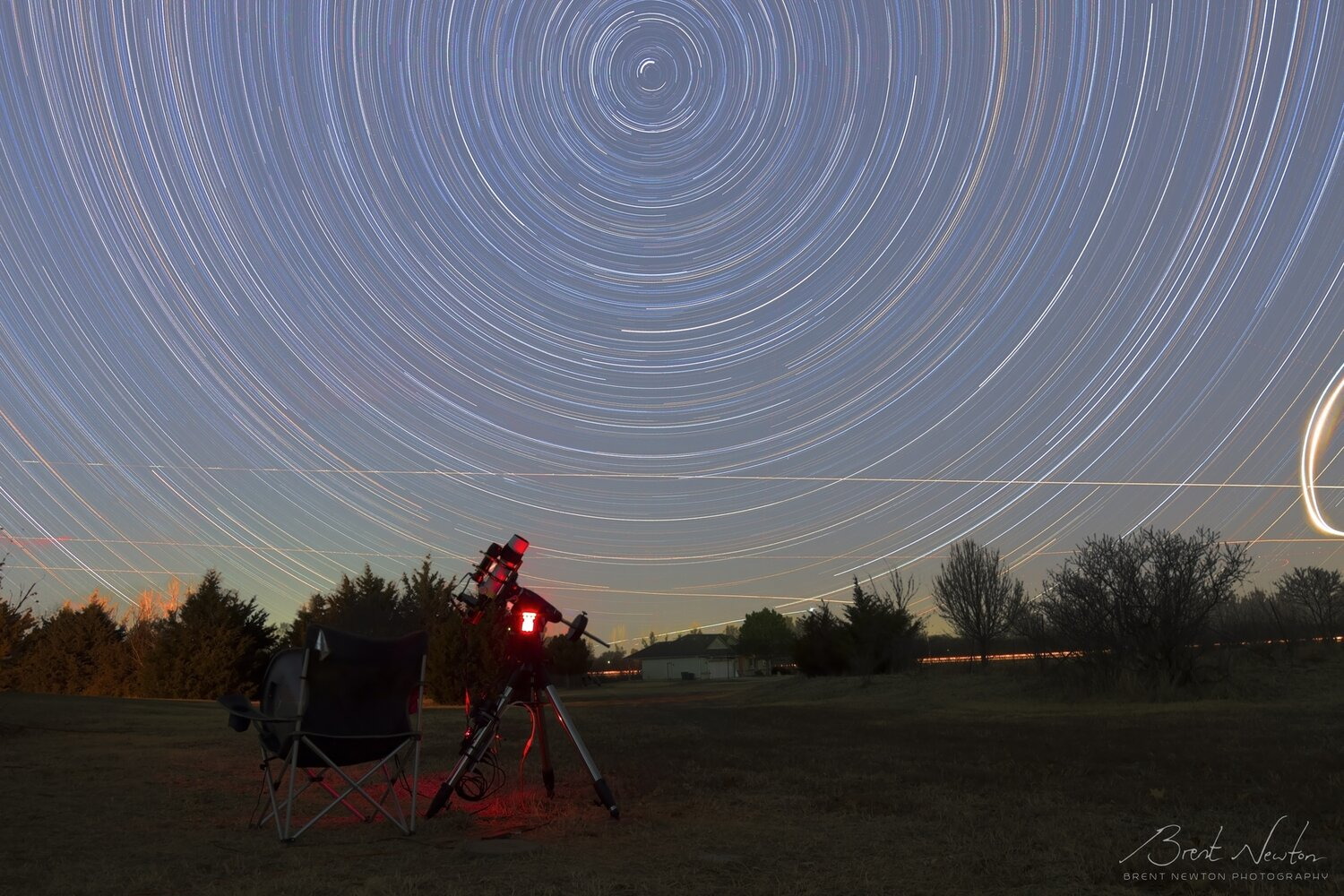 Star Trails taken with a T3i + Rokinon 14mm lens in early 2019