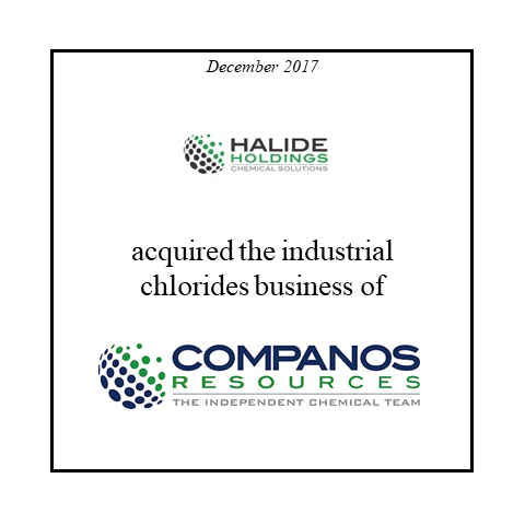 Halidite Holdings acquired Companos Resources