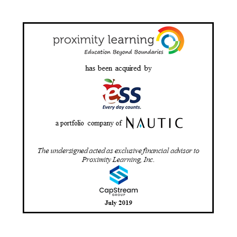 Proximity Learning has been acquired by  ESS