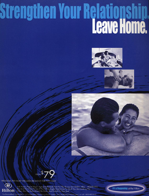 """Hilton """"Blue Note"""" campaign"""