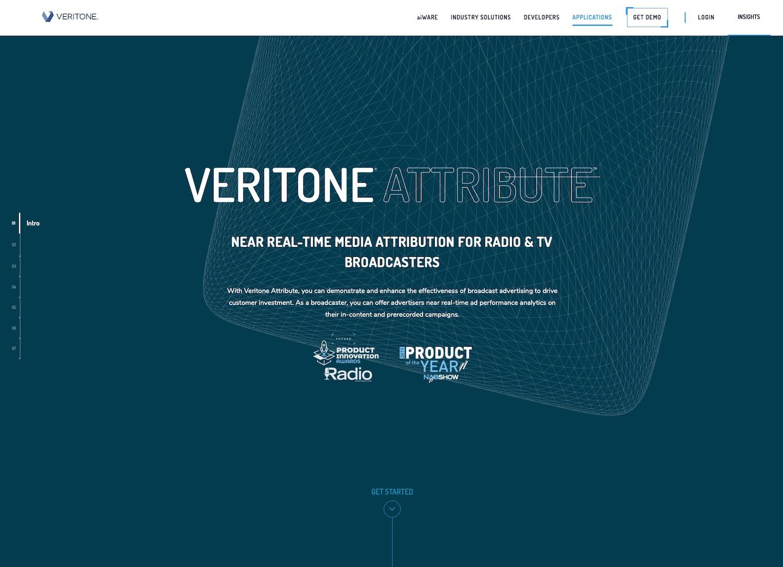 Veritone Website
