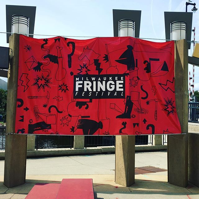 That's a wrap! Thank you so much to the @mkefringe and the @marcus.center for having us this weekend! Also a big thank you to all the artists we had the opportunity to meet and share the stage with; we're so grateful for the opportunity to witness your work and present along side you. Until next time! #mkefringe #mkefringe2019 #mke #midwestisbest #spacejunkdance #jerseycityartists