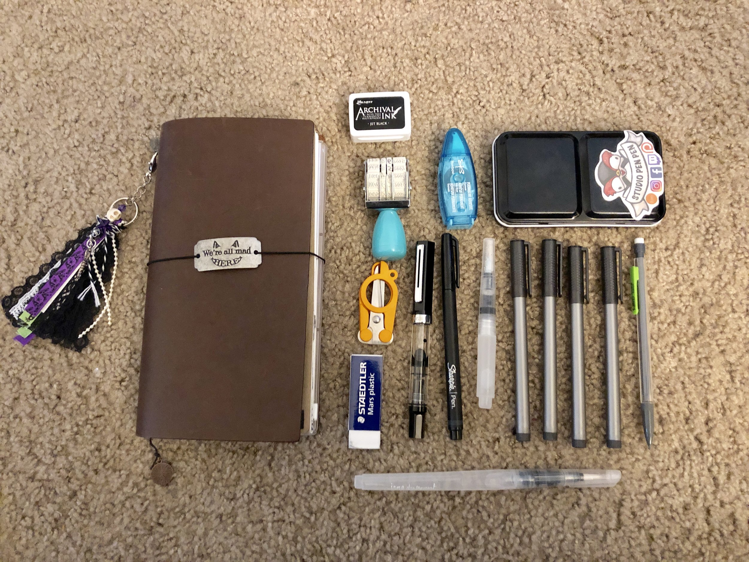 My Current Journaling Collection