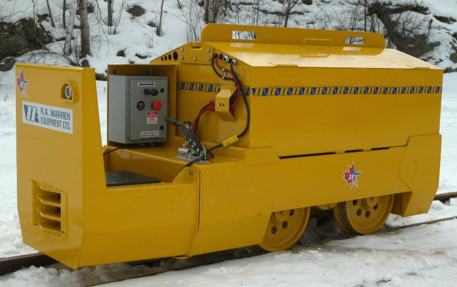 4-5 ton mining locomotive