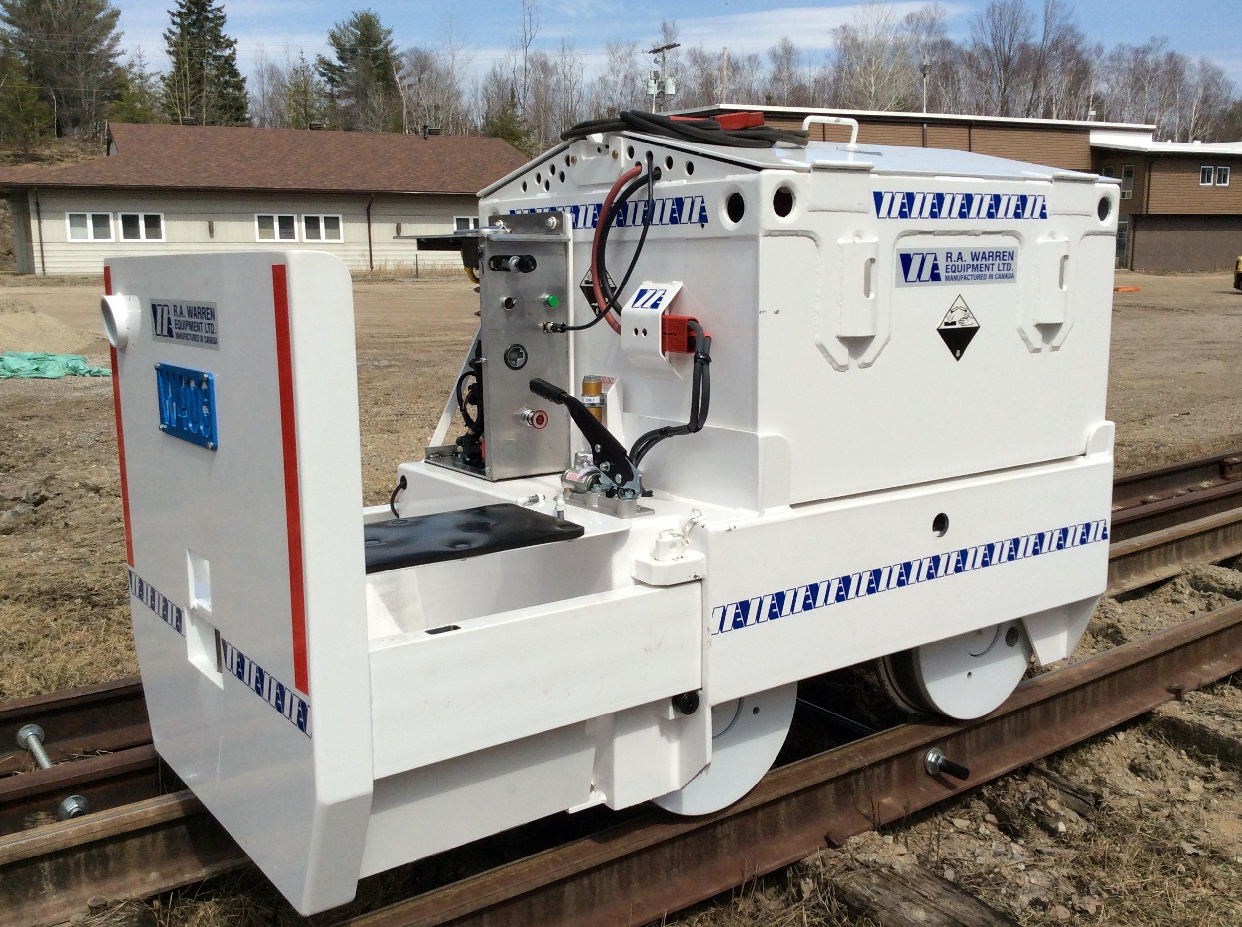 4-5 ton Trojan Mining Locomotive