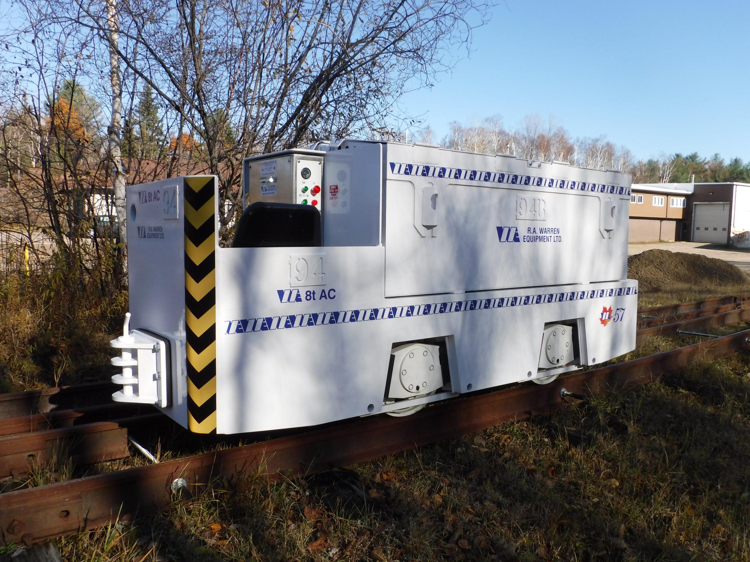 8 ton Mining locomotive