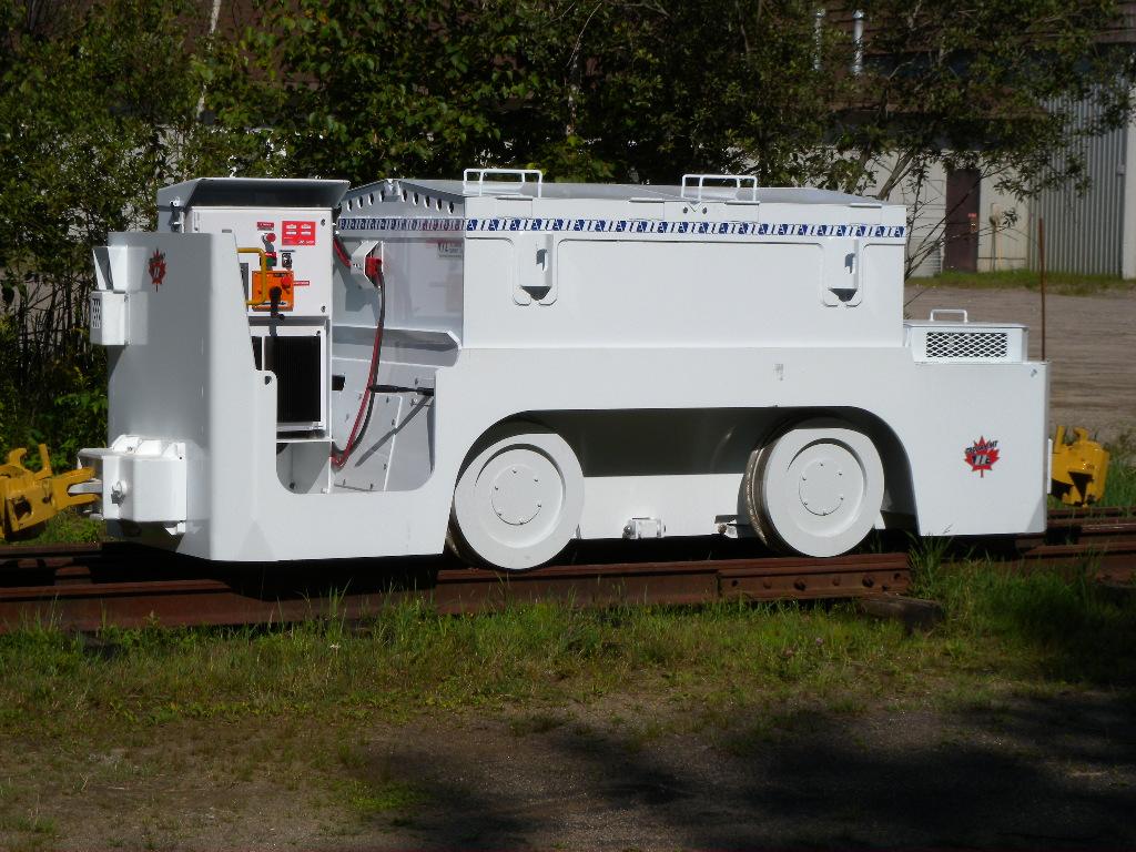 12 ton Mining Locomotive